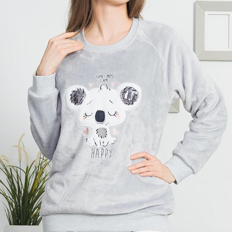 Dámske pyžamá velúr, polar, soft