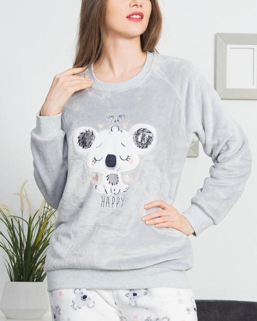 damske-pyzamo-dlhe-koala-happy
