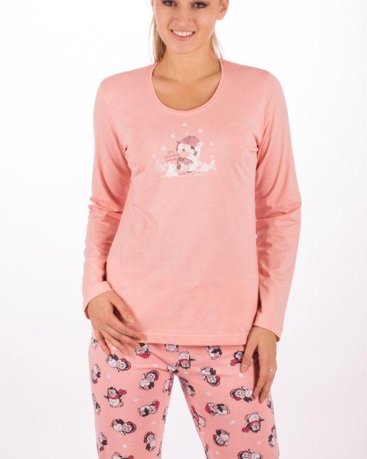 Dámske pyžamá s dlhým rukávom