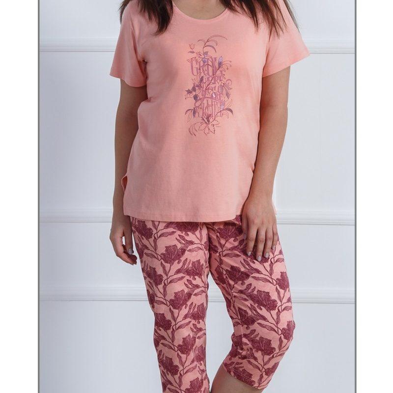 Nadmerná dámska kapri pyžamá