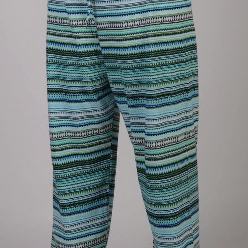 Nadmerné dámske pyžamové nohavice