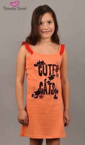 Dievčenské nočné košele na ramienka