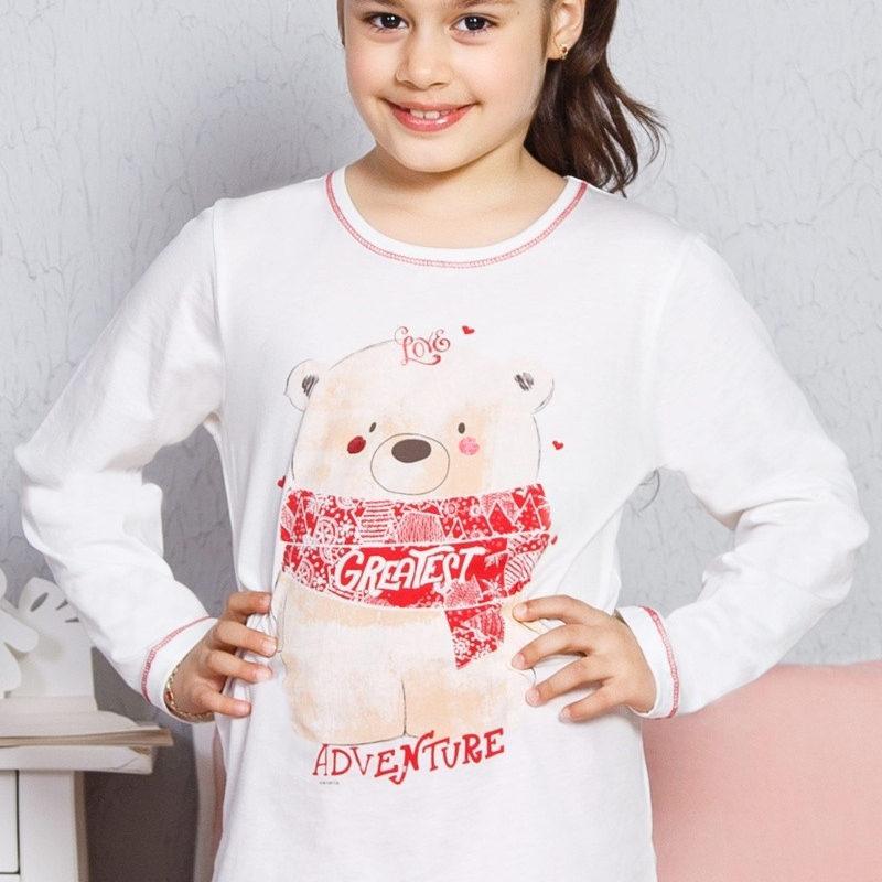 Dievčenské pyžamá s dlhým rukávom