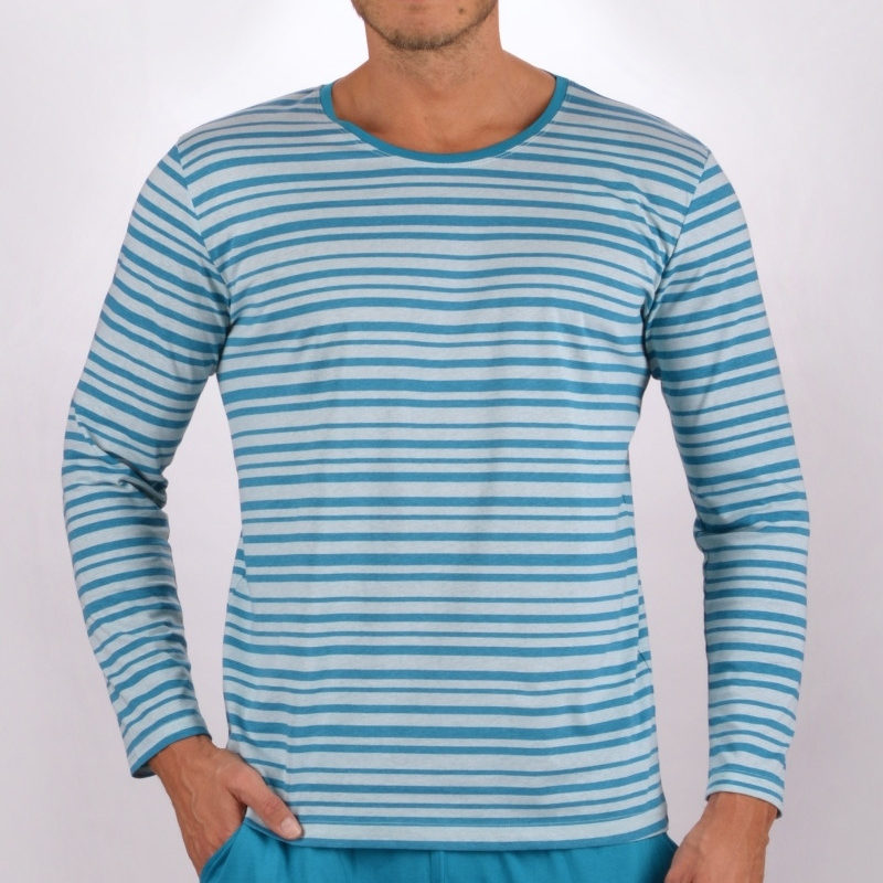 Pánske pyžamá s dlhým rukávom
