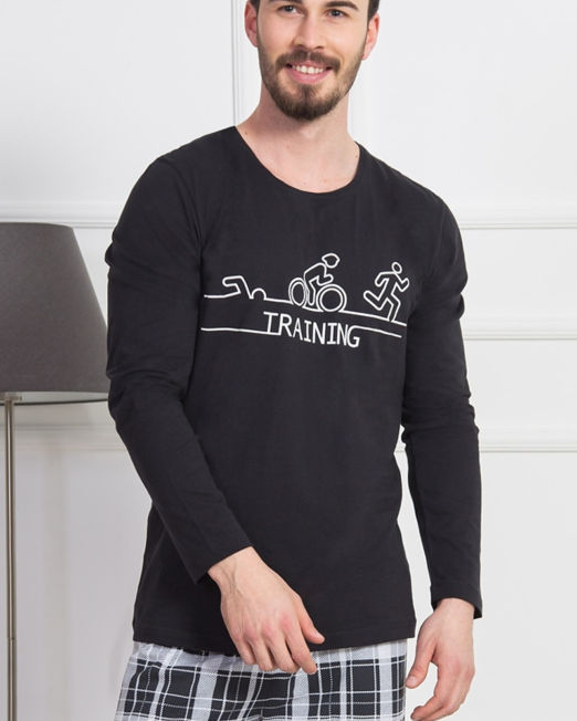 panske-pyzamo-dlouhe-training