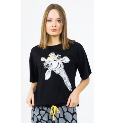 damske-pyzamo-kapri-zirafa (1)